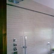 Progetto costruzione doccia con cascata
