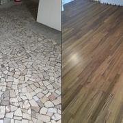 Distributori Kerakoll - Progetto appartamento in Teak a Vicenza (VI)
