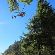 trasloco con elicottero