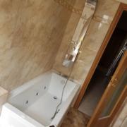 Vasca idromassaggio Novellini e colonna idro