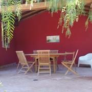 Progetto patio in legno a Roma