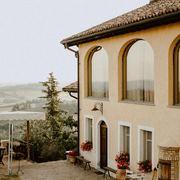 villa stile rustico