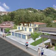 Progetto per la realizzazione di un fabbricato per civile abitazione e locale commerciale nel Comune di Belvedere M.mo (CS)
