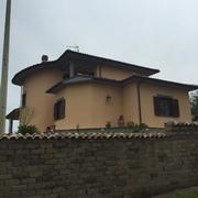 Vista della villa in oggetto.