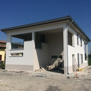 Distributori Porcelanosa - Casa in legno_Passive House
