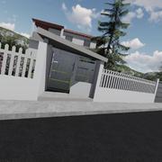 Sistemazione giardino e realizzazione di un nuovo accesso carrabile