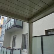 Vista interna con Telo in PVC CRISTAL