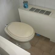WC in spazio ridotto