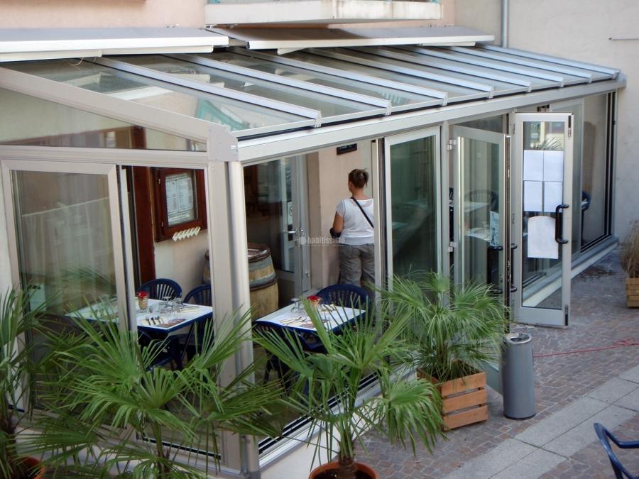 Progetto Creazione Veranda In Alluminio e Vetro Mod Technal | Idee ...