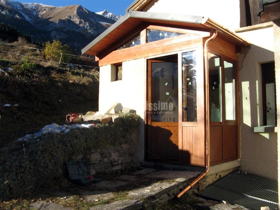 Porgetto realizzazione bussola per esterno idee infissi - Ingresso esterno di casa ...