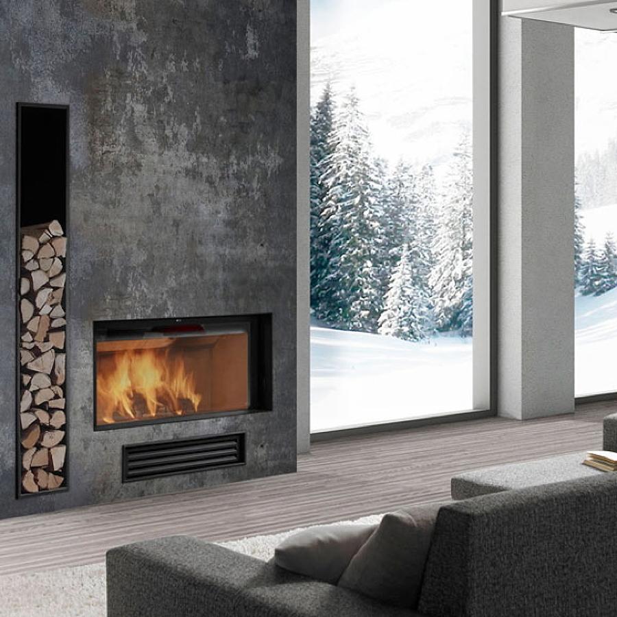 Camini idee d 39 arredo invernali idee interior designer for Caminetti finti d arredo
