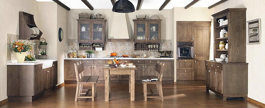 Il Calore e il Design Delle Cucine Rustiche | Idee Interior Designer