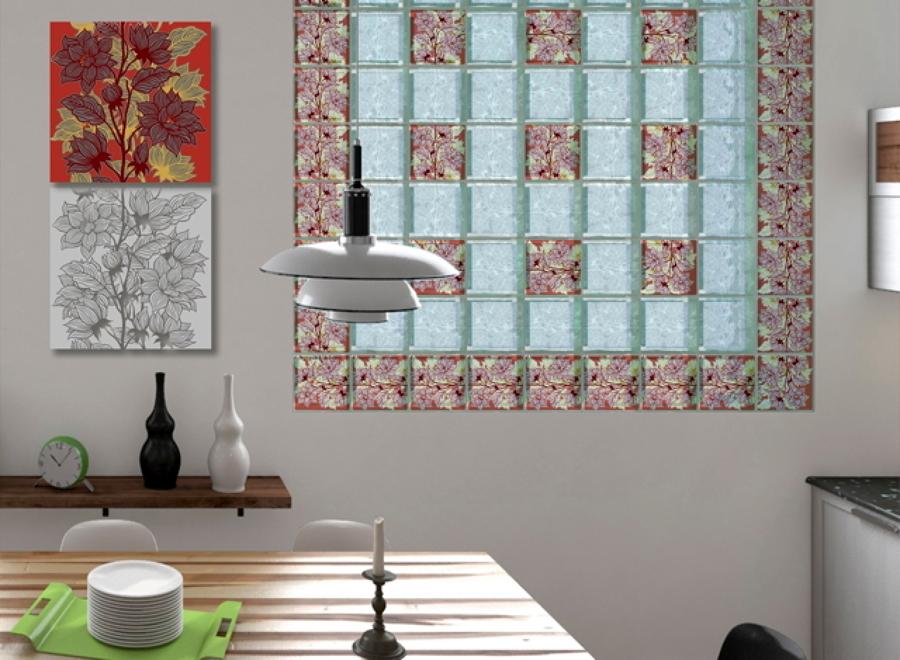 Mattoni di vetro utilizzo e applicazioni idee interior designer - Finestra in vetrocemento ...