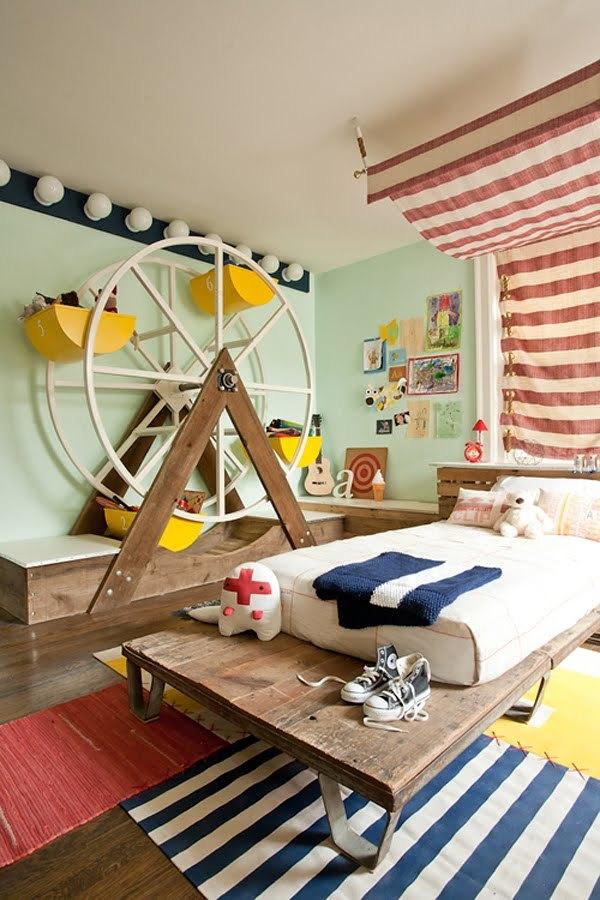 17 camere da letto che fanno sognare i bambini di oggi e di ieri ...