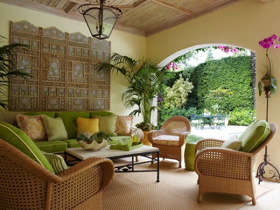 Colora la tua casa con lo stile tropicale idee interior designer