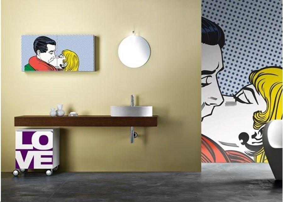 Arredamento Stile Pop Art : Idee per arredare un bagno in stile pop art idee interior designer