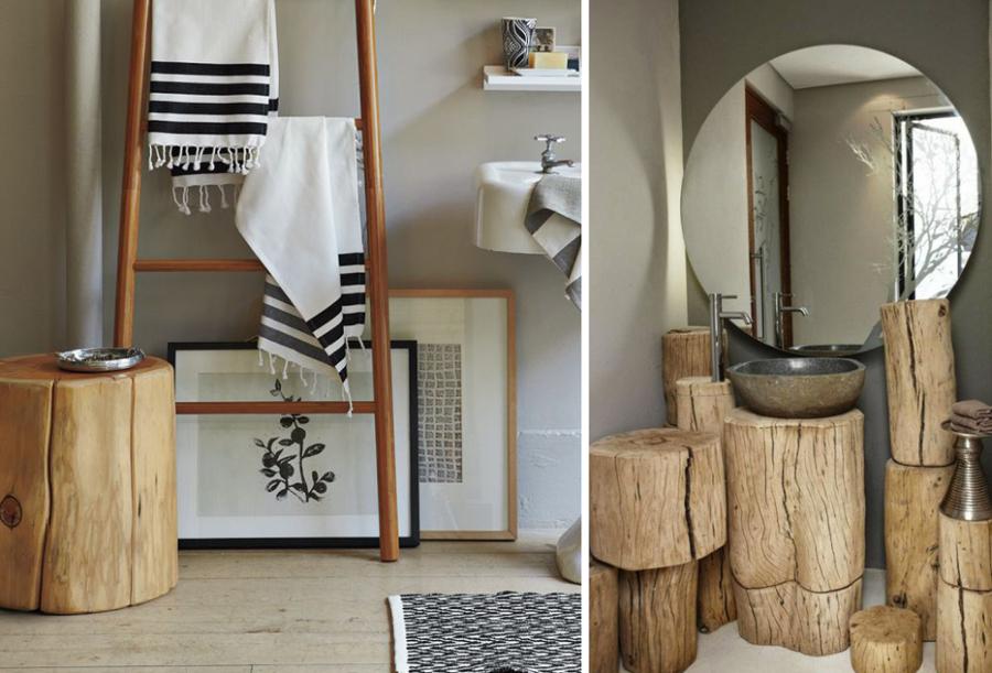 Decorazione naturale tronchi e rami per abbellire la tua - Rami decorativi legno ...