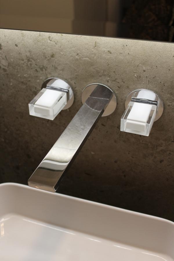Bagno ospiti - particolare rubinetteria Venezia In