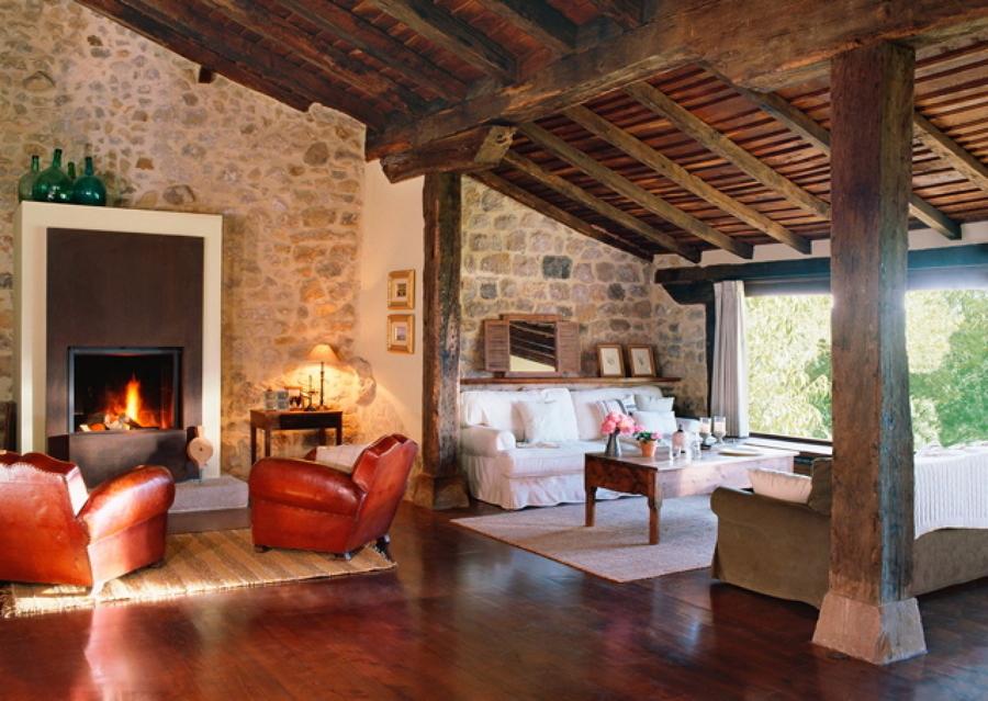 pavimento idee Rustico : ... In Montagna: Arredamento In Stile Rustico Idee Interior Designer