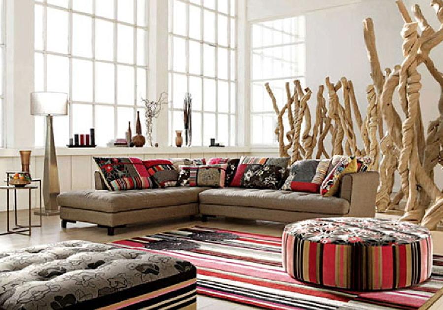 Mobili etnici a roma arredo soggiorno etnico mobili for Arredamento casa stile africano