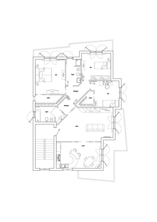 Progetti ristrutturazioni appartamenti idee ristrutturazione casa - Idee progetti ristrutturazione casa ...