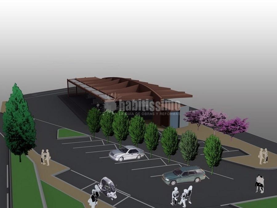 Progetto area servizio carburanti