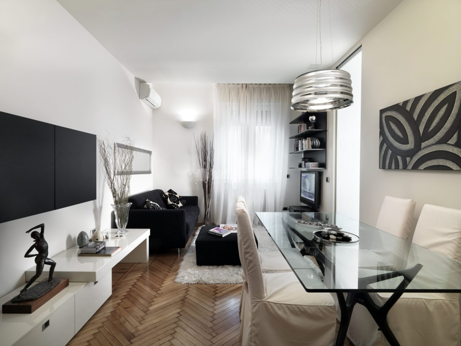 Progetto ristrutturazione mini appartamento idee for Progetto appartamento moderno
