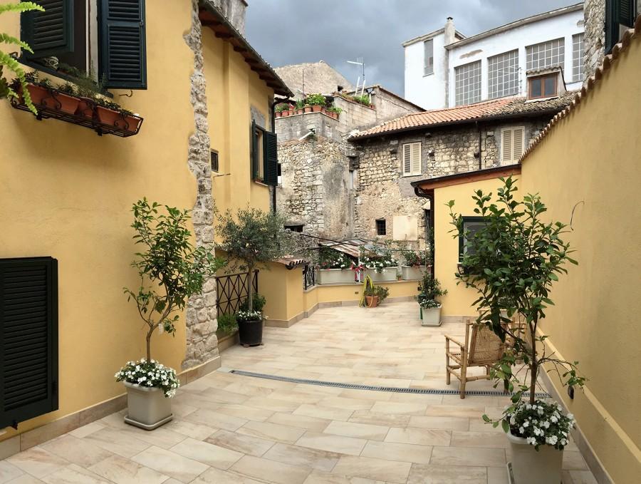 Ristrutturazione di un appartamento nel centro storico di alatri fr idee ristrutturazione casa - Ristrutturazione interna casa ...