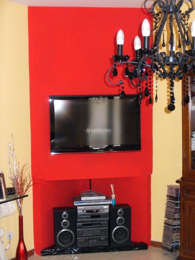 Progetto di creazione in cartongesso mobile porta tv - Mobili in cartongesso per tv ...