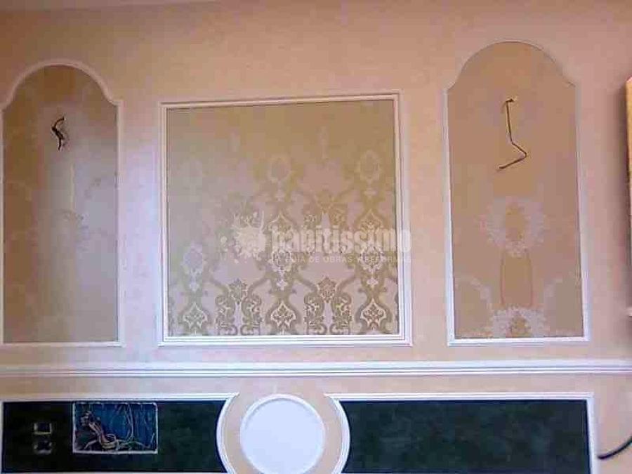 Progetto controsoffittature e decorazione con stucchi in - Cornici per camere da letto ...