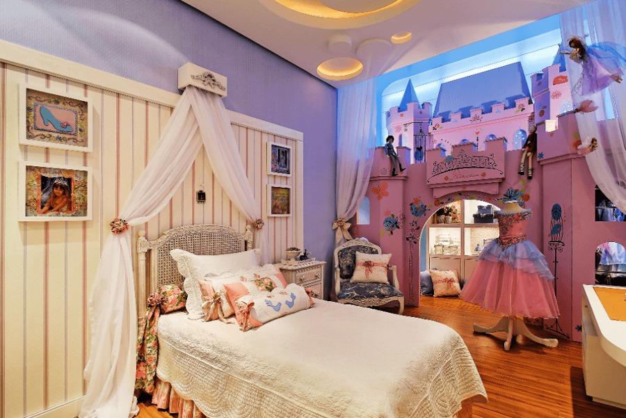 17 camere da letto che fanno sognare i bambini di oggi e for Camerette particolari