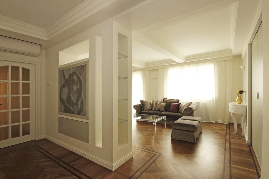 Architettura d 39 interni in stile classico contemporaneo for Interni classici