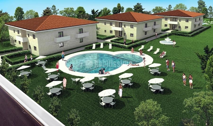 Progetto per costruzione residence corsica progetti for Progetti di costruzione di garage