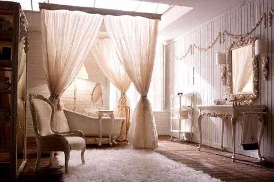 Bagno Stile Romantico : Come arredare un bagno in stile romantico idee interior designer