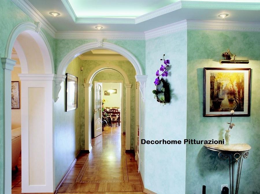 Foto: Abbassamento Soffitto e Pitturazione di Decor Home Pitturazioni E Cartongesso #123898 ...