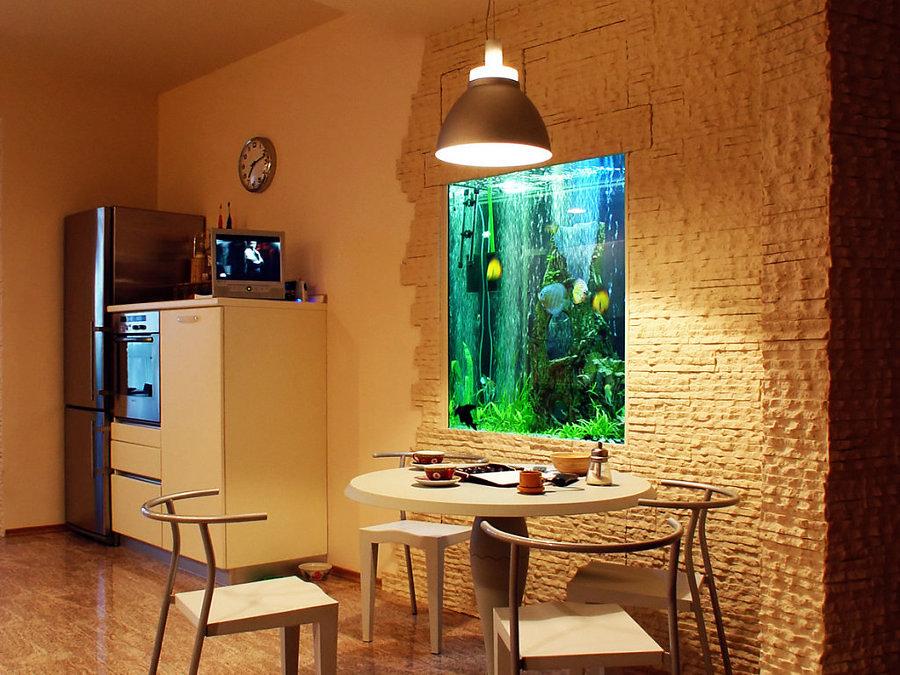 Foto acquario a parete di valeria del treste 304257 for Acquario in casa