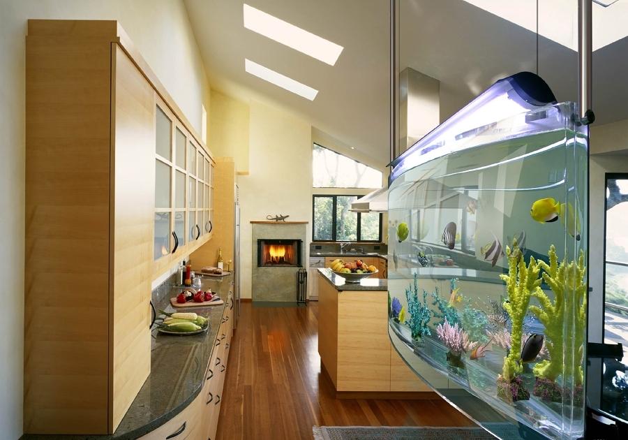 acquario in cucina