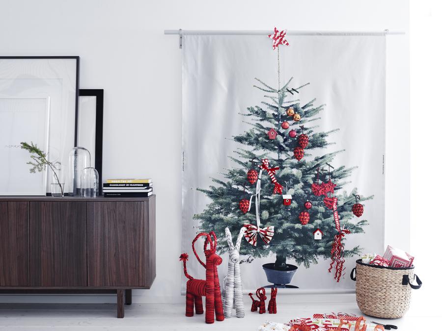 albero a parete