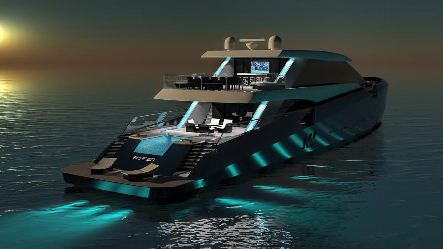 AMNESIA yacht