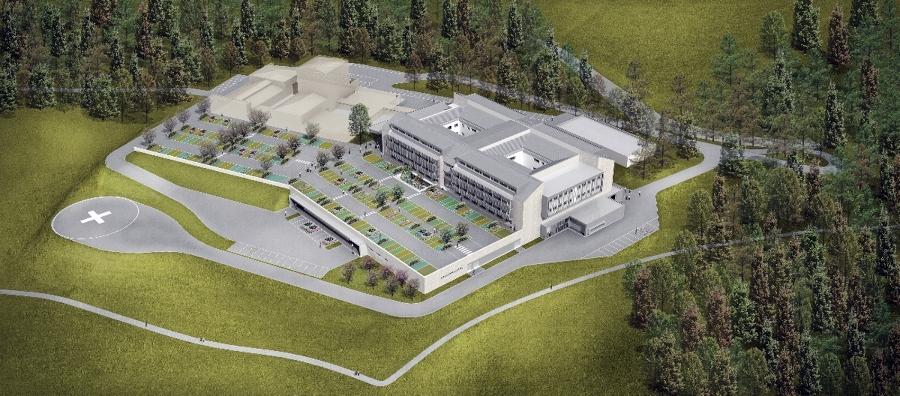 Ampliamento e ristrutturazione dell'ospedale di Asiago (Vi)