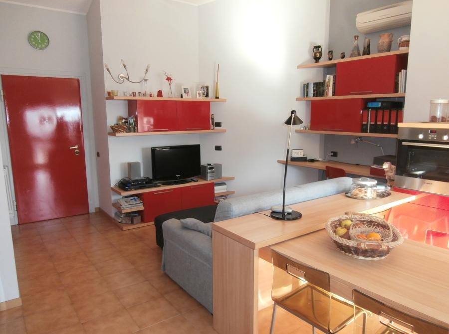 foto: angolo soggiorno-studio di nicoletta mandaletti #348996 ... - Zona Studio In Soggiorno
