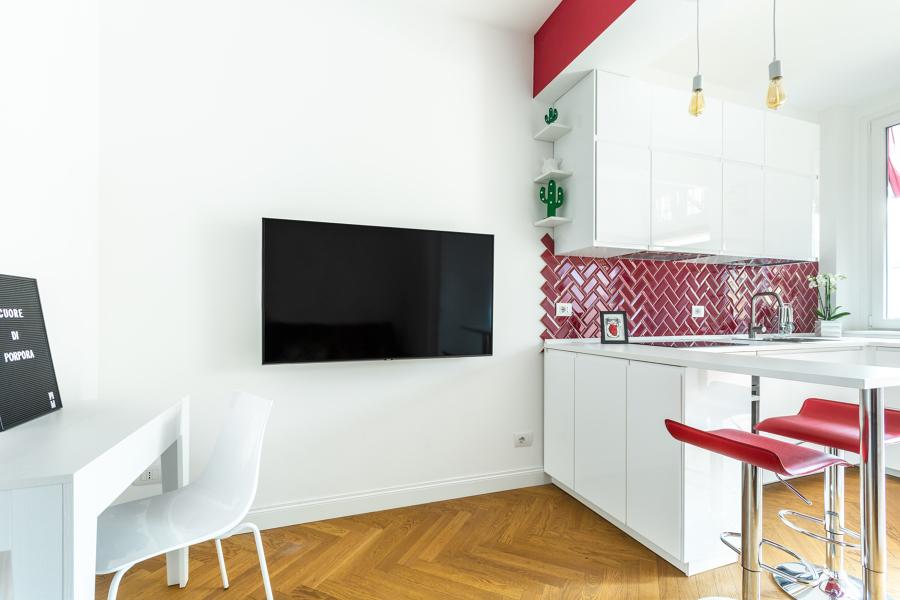 Angolo tv - penisola cucina