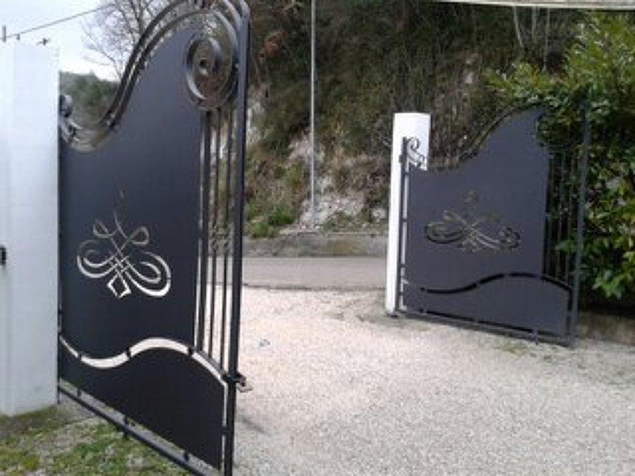 Foto: Ante Cancello In Ferro con Lavorazione al Laser di L.o.c.a. Snc Carlone Serramenti #269668 ...