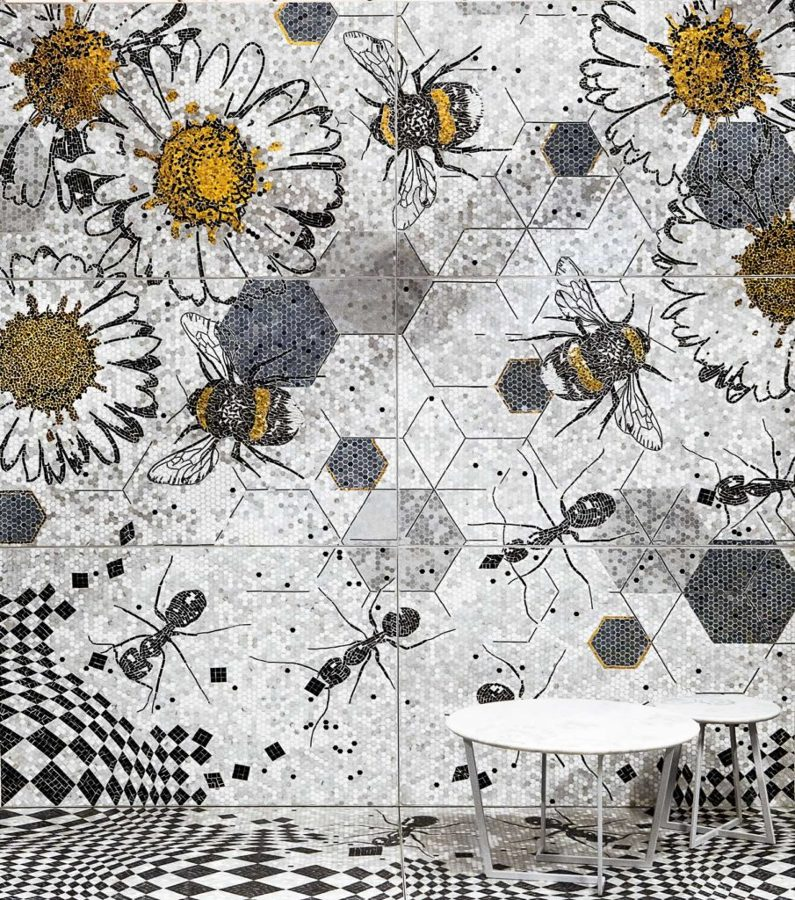 Ants & Bees di Lithos Mosaico
