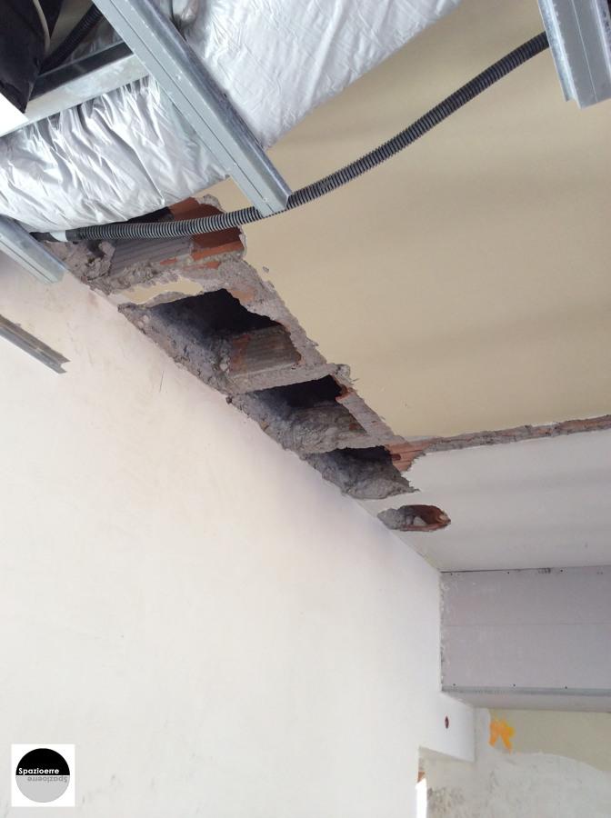 Progetto apertura solaio e realizzazione vano scala a roma rm idee ristrutturazione casa - Apertura solaio per scala interna ...