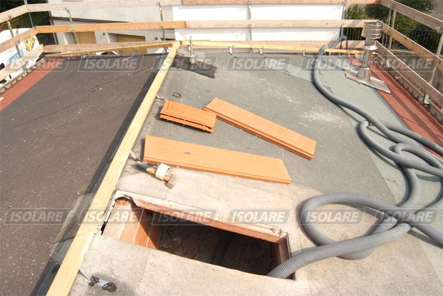 Progetto coibentazione scuola dell infanzia gesu bambino - Isolare tetto dall interno ...