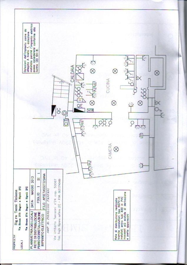 Progetto impianto elettrico appartamento idee for Impianto elettrico appartamento