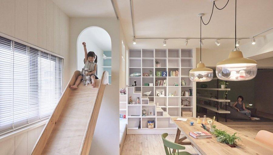 Appartamento con idee per i bambini
