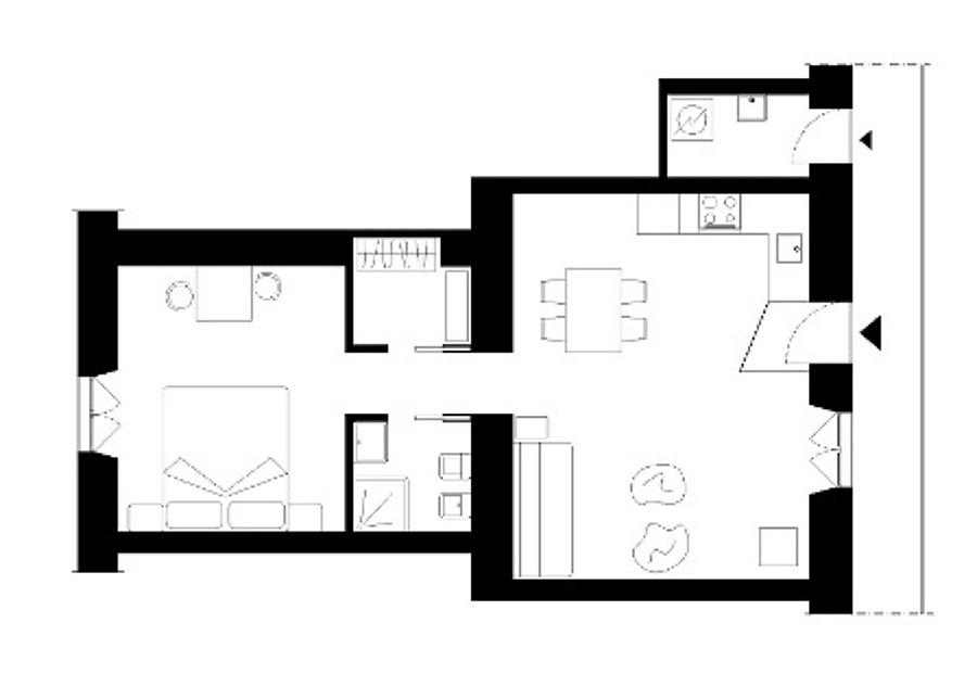 Appartamento mq 45