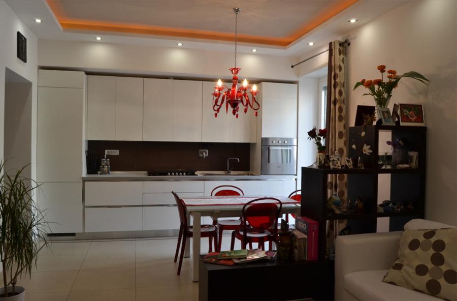 Progetto appartamento roma prenestino idee for Appartamento design roma
